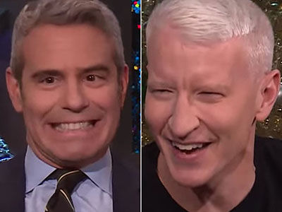 Andy Cohen Just Can't Stop EMBARRASSING Anderson Cooper Over and Over Again