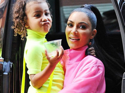 North West Joined Kim Kardashian for a Photoshoot and the Pictures Are Kind of AMAZING
