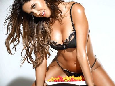 CJ Franco Shakes Her Sexy Body With Bags of Flamin' Hot Cheetos