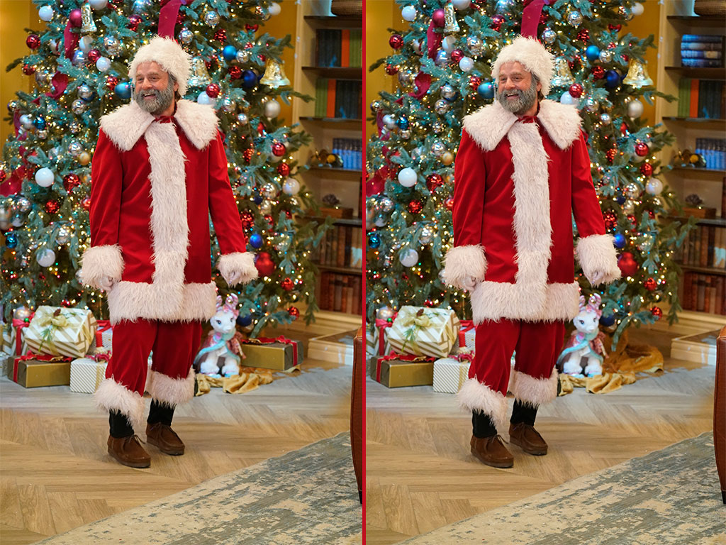 Can you spot the THREE differences in these Zach Galifianakis photos?