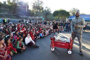 Kobe Bryant Visits Mission Viejo School