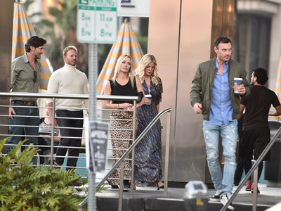 '90210' OGs Garth, Spelling, Ziering and Austin Green Get Coffee After Reboot Pitch
