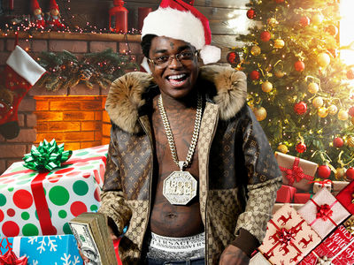 Kodak Black Plays Santa Claus Donating Toys to 150 Kids in Florida