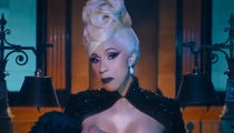 Cardi B Gets Naked and Breastfeeds A Fake Baby in New 'Money' Music Video