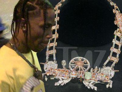 Travis Scott Drops $450,000 For His Astroworld Set Design in Diamonds