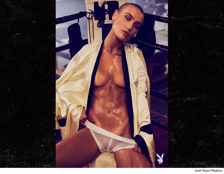 Vendelas Not Really Sure Why It Took So Long For A Buzz Cut Playmate But She Says The Time Is Right Now And Shes Happy To Be The First