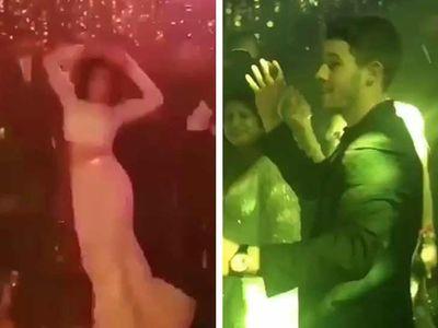 Priyanka Chopra Dances, Nick Jonas Does Not at 3rd (Final?) Wedding Reception