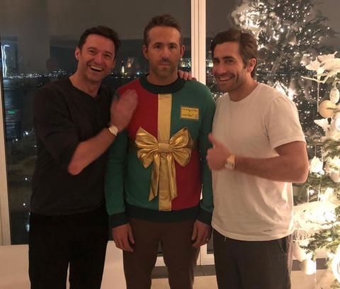 Hugh Jackman, Ryan Reynolds, and Jake Gyllenhaal