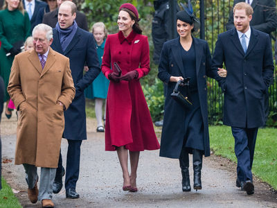 Royal Family Attends Christmas Services