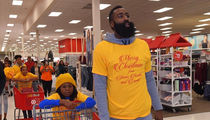 James Harden Hooked Up 70 Kids with Target Shopping Spree on Christmas Eve