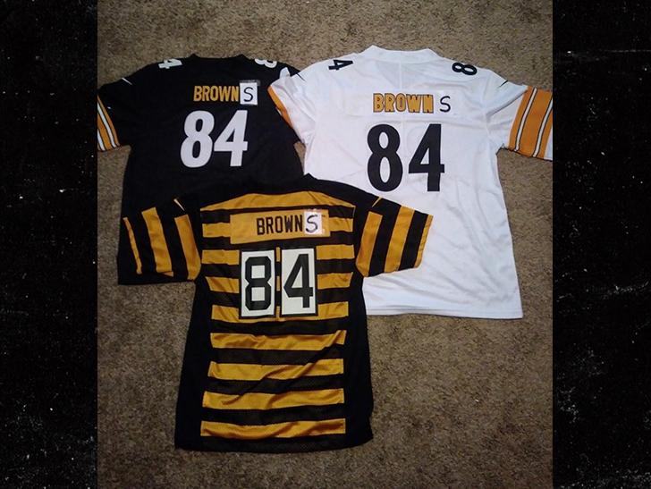 Steelers  Antonio Brown Rocks New  Browns  Gear 92a6a7051