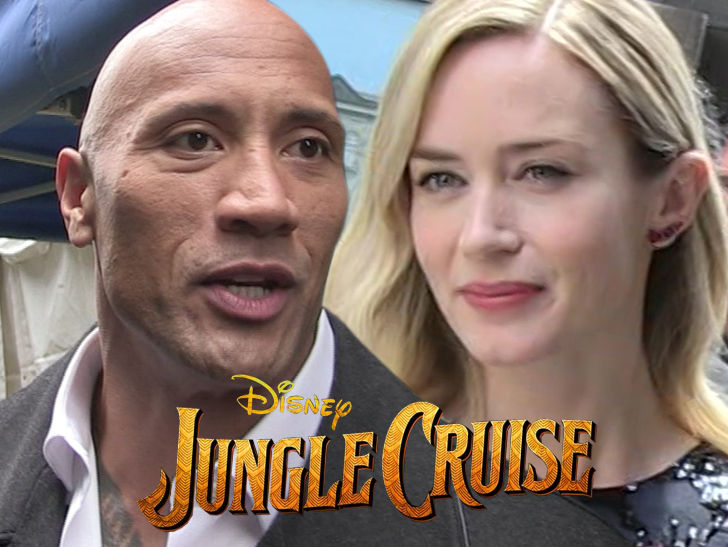 The Rock Got Paid $13 Million More Than Emily Blunt for Disney's 'Jungle Cruise' Film