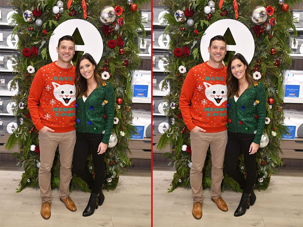 Can you spot the THREE differences in these Garrett Yrigoyen and Becca Kufrin photos?