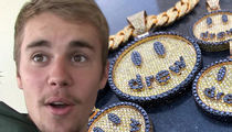 Justin Bieber Gets 6 Smiley Drew Pendants Worth $250k for Launch of Clothing Line