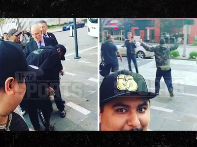 Kyrie Irving Gifts Wad of Cash to Homeless Man, Dude Freaks Out!