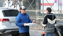 Kevin Spacey Buys Paparazzi Pizza Ahead of Court Arraignment
