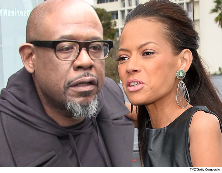 Forest Whitaker's wife wants spousal support in their divorce.