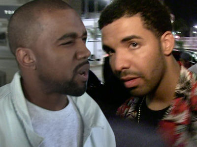 Kanye Tells Drake 'Don't Follow My F***ing Wife on Instagram'