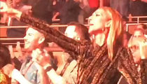 Celine Dion Rocks Out at Lady Gaga's Las Vegas Enigma Residency Show