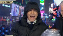 Andy Cohen Goes Off on Times Square Security During CNN New Year's Eve Show