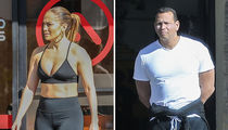 Jennifer Lopez & A-Rod Hit the Gym to Kick Off the New Year