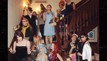 Taylor Swift Throws NYE Costume Party and Dresses as Ariel