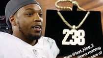 Derrick Henry Gets Titans O-Linemen Custom Diamond Chains After Monster Game