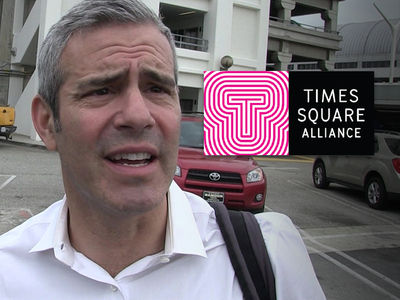 Andy Cohen Ripped By Times Square Alliance After New Year's Eve Umbrella Rant