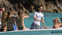 Jared Leto Hops on Yacht with Bikini-Clad Hotties in St. Barts