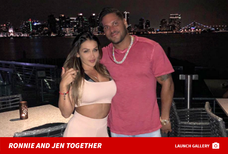 Ronnie Ortiz-Magro Leaves Membership with Bloody Face After Alleged Ashtray Assault by Jen - TMZ