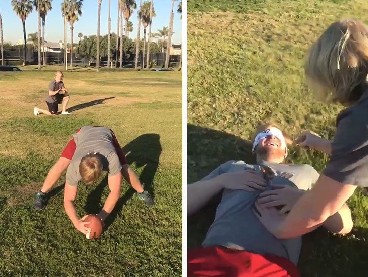 Blind USC Football Player Flawlessly Nails 'Bird Box' Challenge