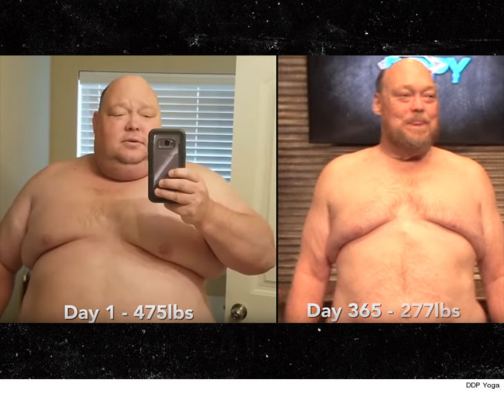 Diamond Dallas Page Helps Man Lose 200 Pounds ... 100 to Go!!