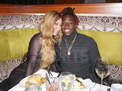 Ex-'Love & Hip Hop' Star Hazel-E Cozies Up to New Man, NFL Player Lucky Whitehead