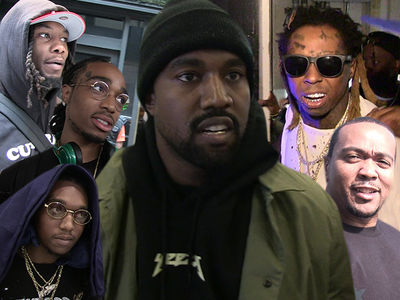 Kanye West Working on New Album in Miami with Guests Lil Wayne, Migos and Timbaland