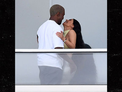 Kim Kardashian and Kanye West Spotted at New $14 Million Miami Beach Condo