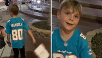 Danny Amendola Surprises Little Kid Wearing His Jersey, 'Hey Bro, That's Me!!'