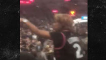 Kawhi Leonard's Mom Blasts Heckler at Spurs Game, 'Shut Up, A-Hole'