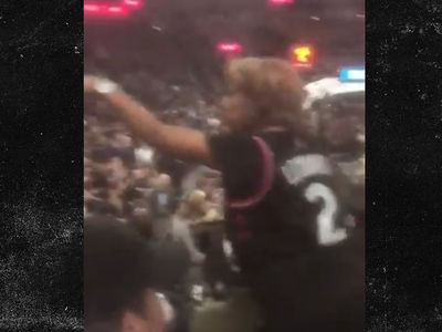 Kawhi Leonard's Mom Blasts Heckler at Spurs Game, 'Shut Up, A-Hole'