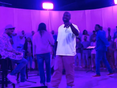 Kim Kardashian Teases New Sunday Service with Kanye West Leading Choir