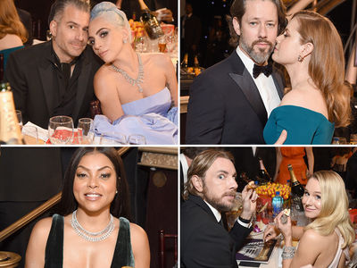 Golden Globes Celebs Party Hard, Win or Lose