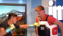 Logan Paul Used As Ryan Garcia's Human Punching Bag, 'F*** Me Up!'