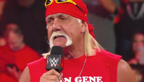 Hulk Hogan Honors 'Mean' Gene on 'WWE Raw'