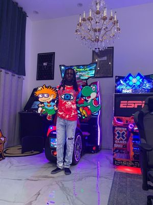 Chief Keef's Cartoon Art Collection