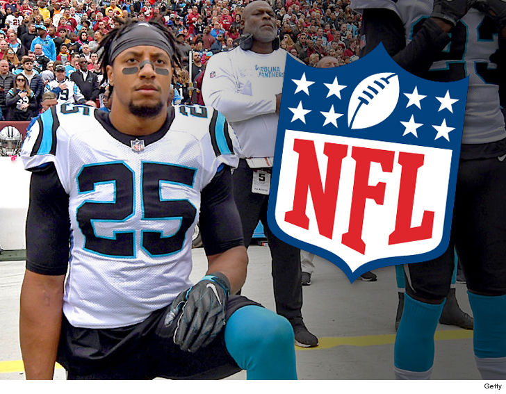 The NFL and NFLPA both say Eric Reid was NOT targeted for excess drug tests  as a punishment for kneeling ... claiming they have PROOF the process was  truly ... 5e84ff633