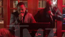 Cuba Gooding Jr. Sings Karaoke for 51st Birthday