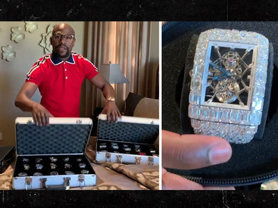 Floyd Mayweather Flaunts 41 Expensive Watches, 'This One Cost $18 Mil'