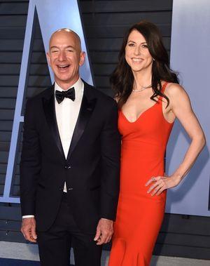 Jeff Bezos and MacKenzie Bezos -- Before The Split