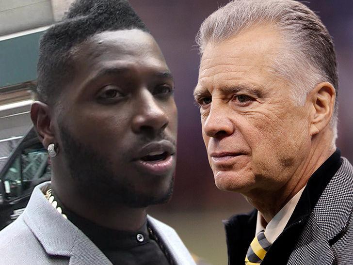 Antonio Brown Likely Done In Pittsburgh, Says Steelers Owner