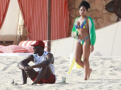 Usain Bolt & Longtime GF Hit Cabo, Bikinis And Mojitos!!!