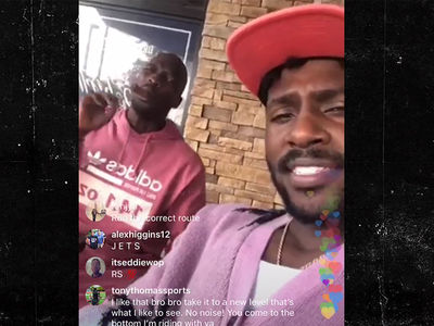 Antonio Brown Not Sweating Steelers Drama, 'My Phone Line's Open'